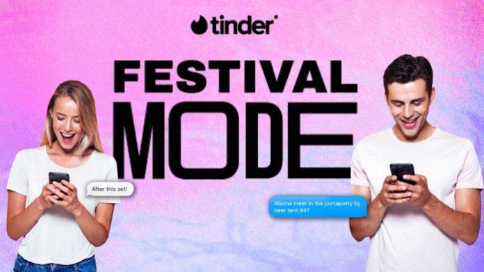 festival tinder
