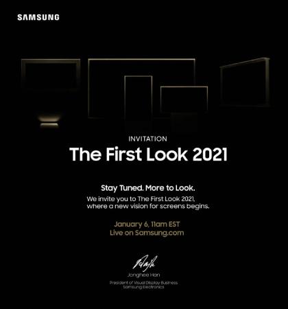 Samsung 2021 TVs !
