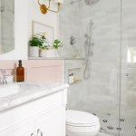 Our Small Bath Reveal How We Created A Spa Like Shower System Yellow Brick Home
