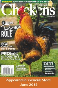 Hobby Farms Chicken Magazine