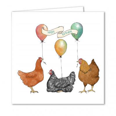 Birthday balloons yellow chicken house birthday balloons bookmarktalkfo Choice Image