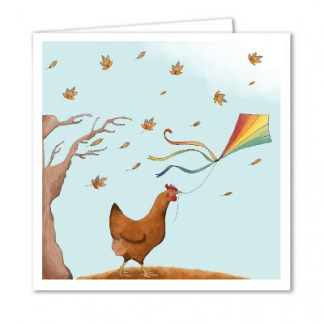 Greeting Card for chicken lovers