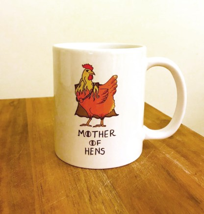 Mother of Hens Chicken Mug