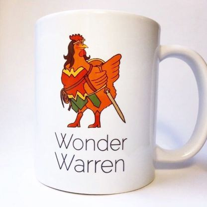Wonder Warren Chicken Mug