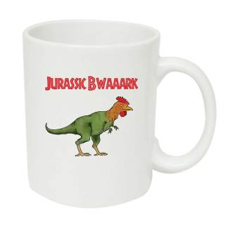 Dinosaur chicken mug