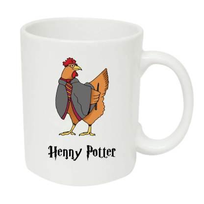 Harry Potter Chicken Mug