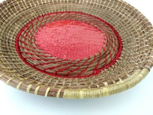 Pine Needle Basket Weaving