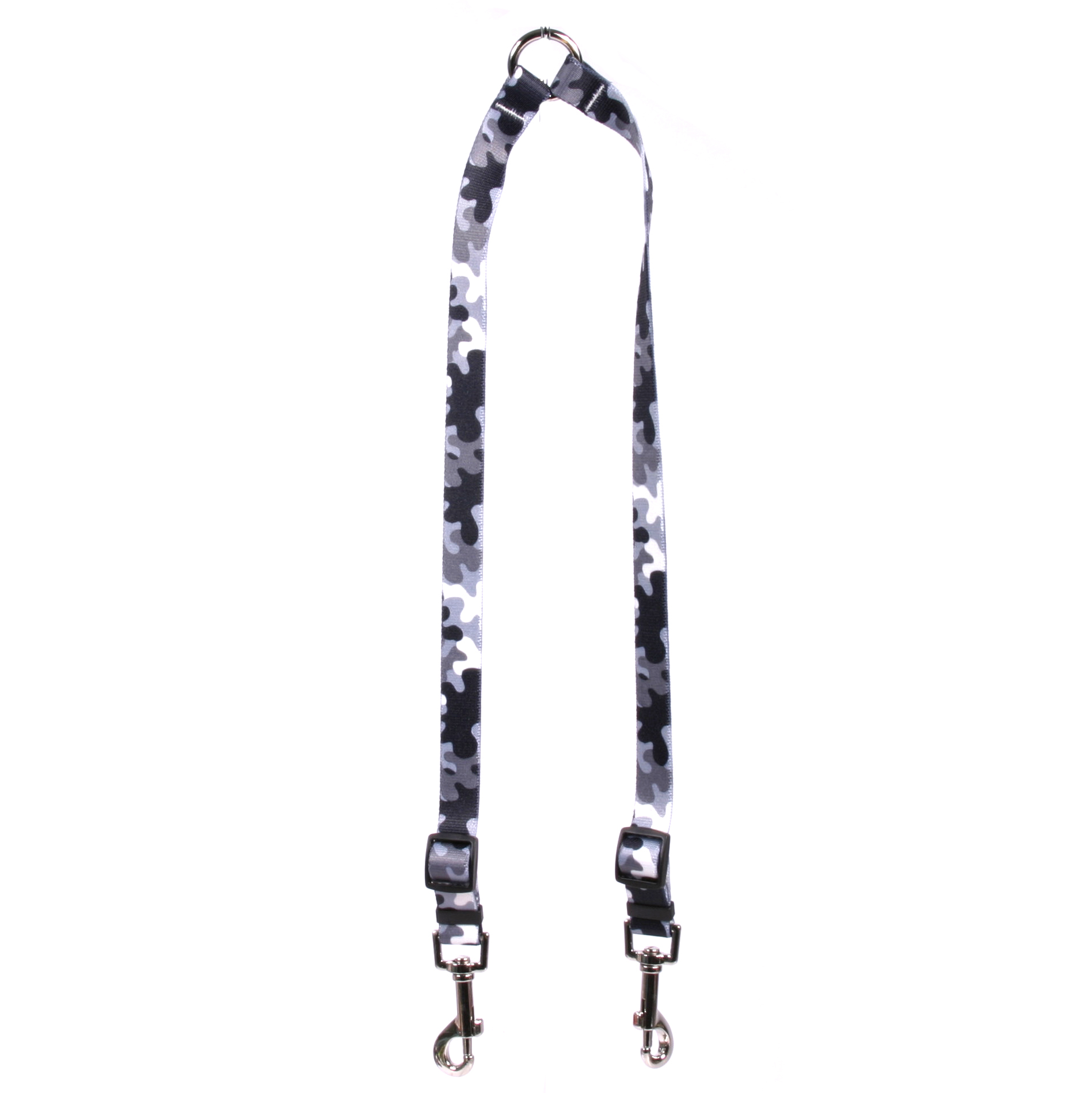 Black And White Camo Coupler Lead By Yellow Dog Design