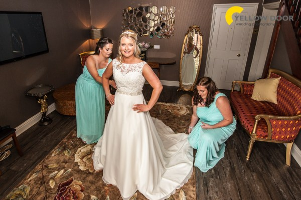 Spread Eagle wedding photographer