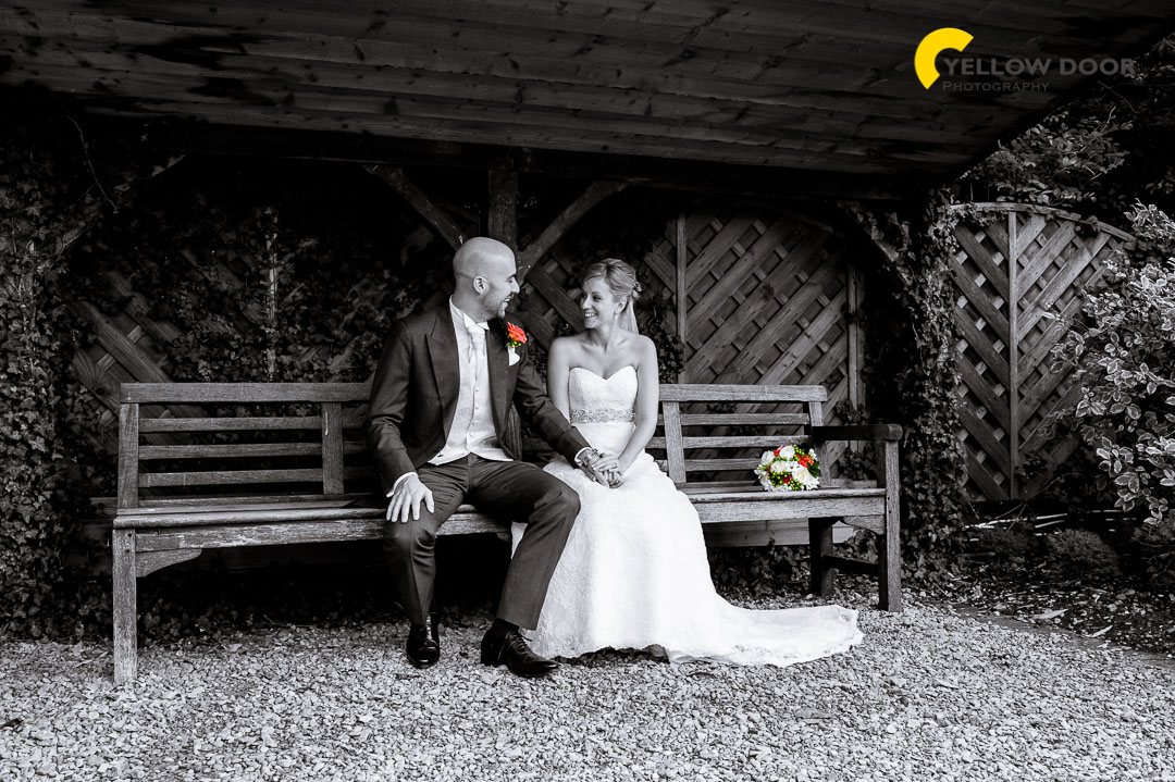 Tythe Barn Launton wedding photographer