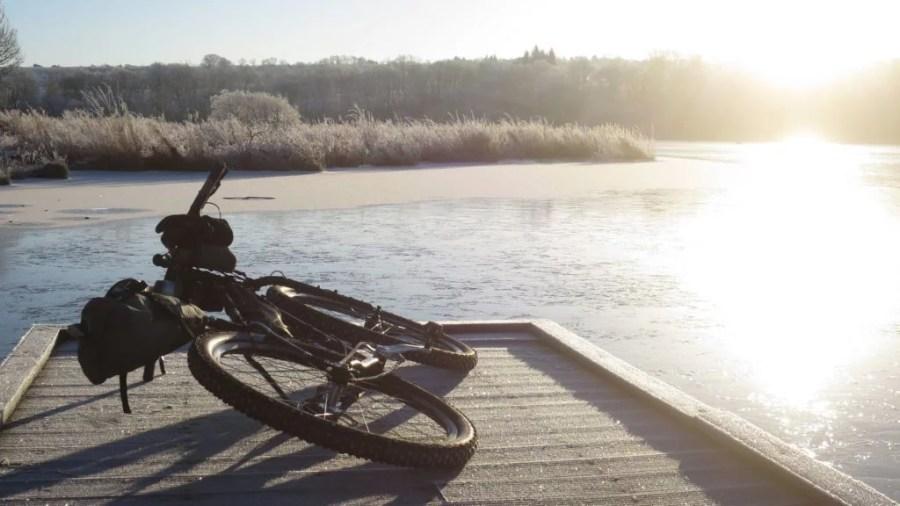 frozen lake 1024x576 1 1024x576 - Frozen Scotland – A lowland bikepacking adventure in winter