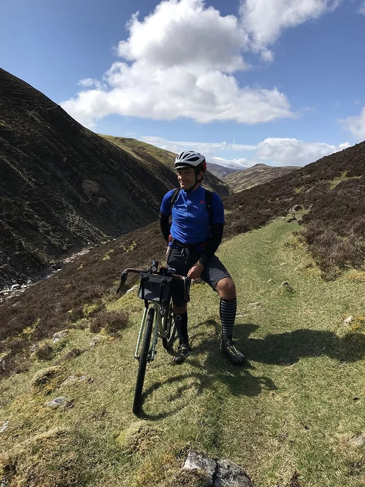 Cycling the Monega Pass - Bikepacking the highest road in Scotland 7
