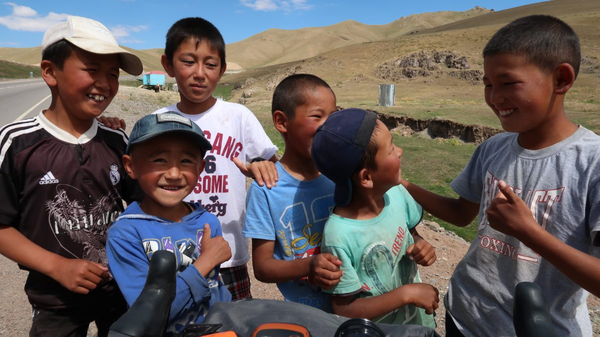 The locals of Kyrgyzstan