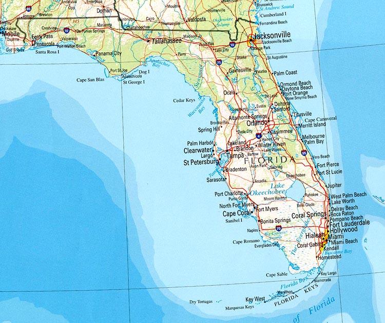 Cape Coral Florida Aerial View