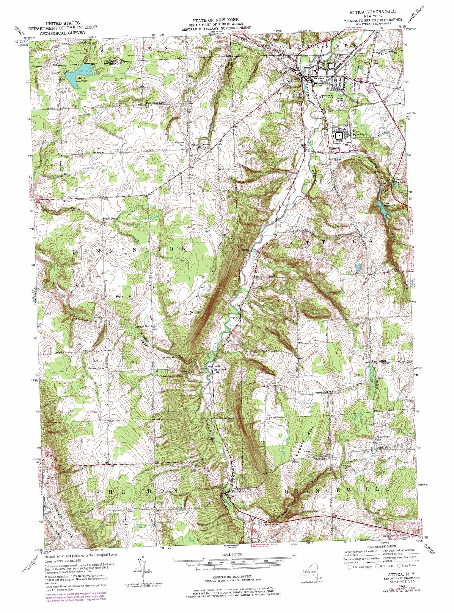 Poland Printable Map Topographic