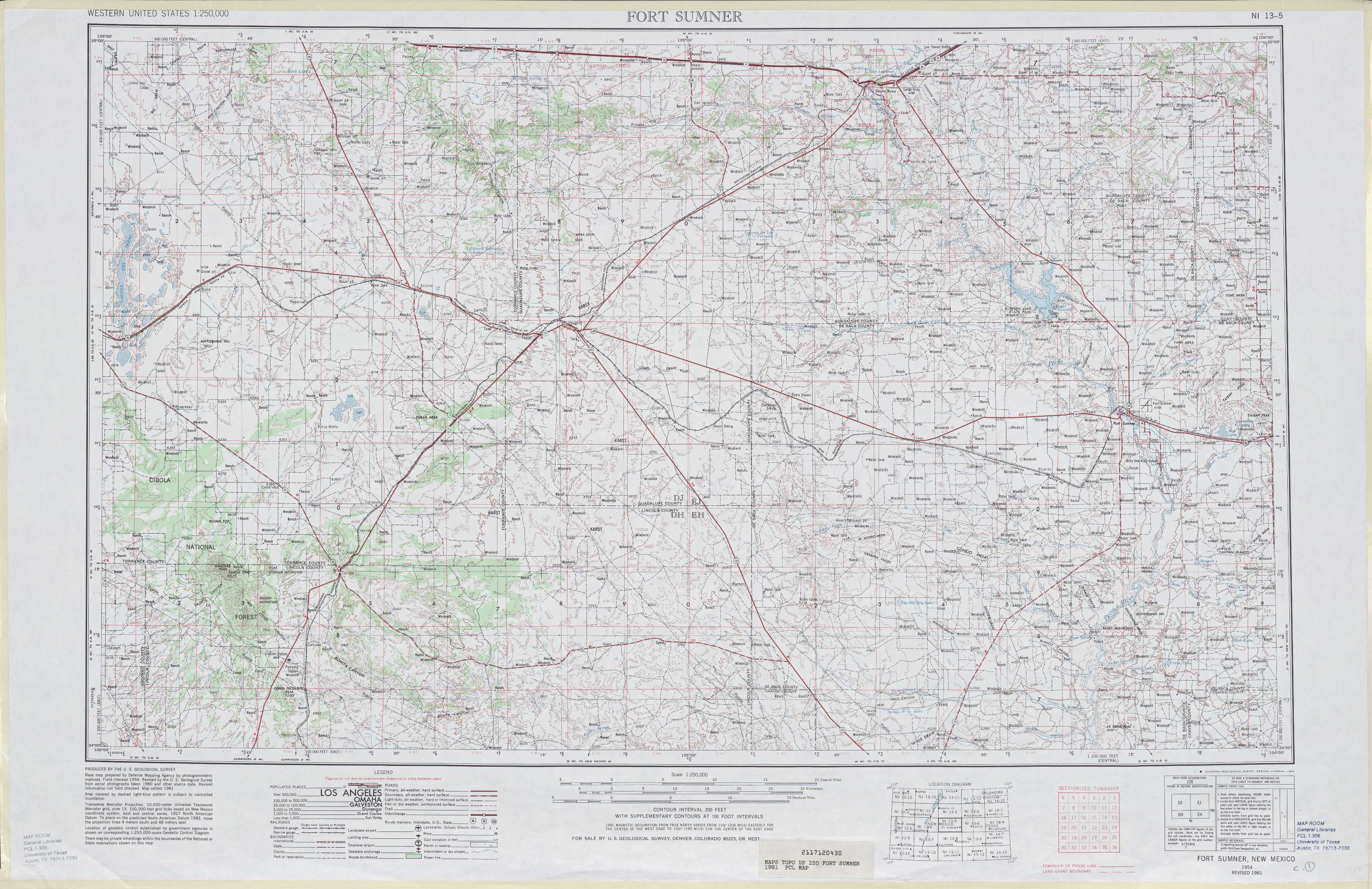 Map Carlsbad Nm