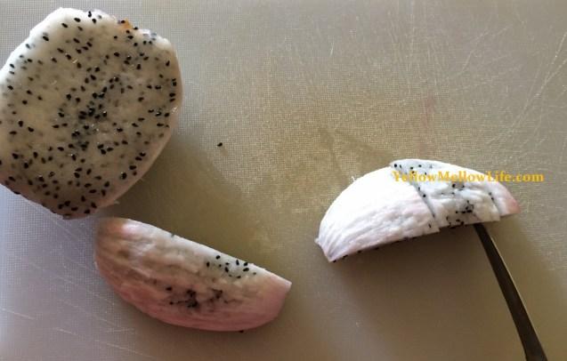 pitaya tasting preparation