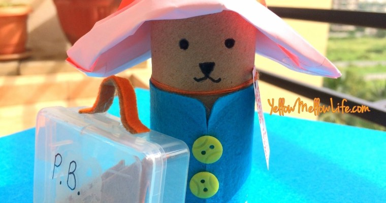 Wanted on Voyage – A Paddington Bear Tissue Roll Craft