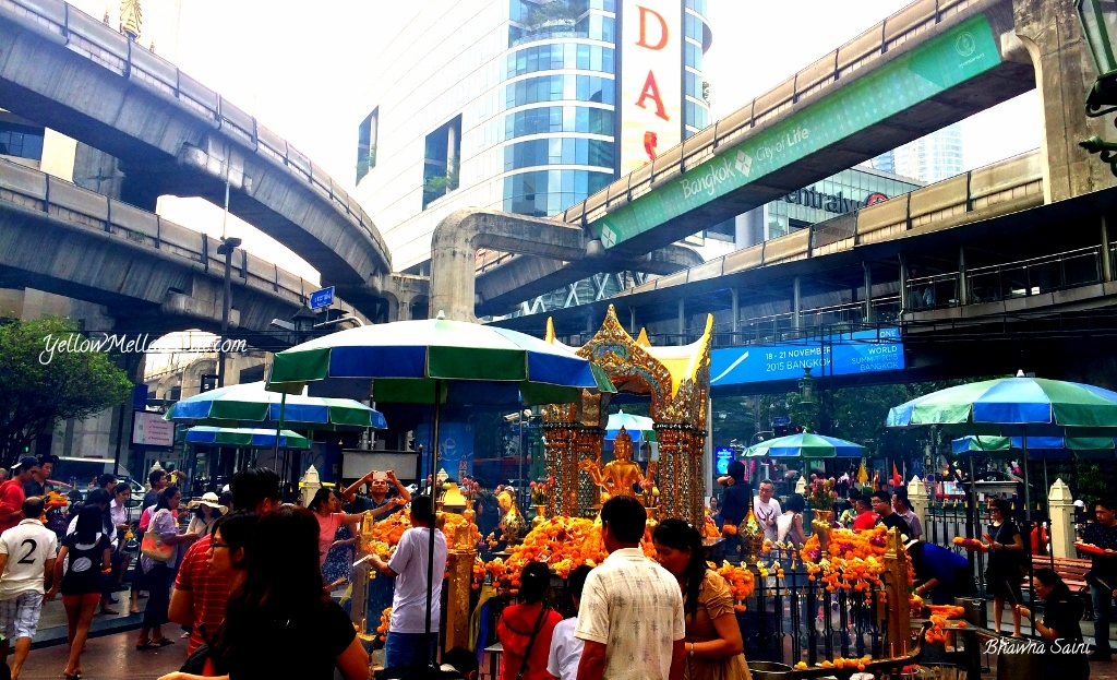 Thailand Travel Tales – Erawan Shrine, Bangkok