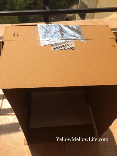 pinhole projector for watching sun
