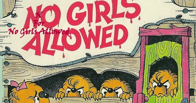 No Girls Allowed Review – The Berenstain Bears series