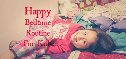 happy bedtime routine for kids