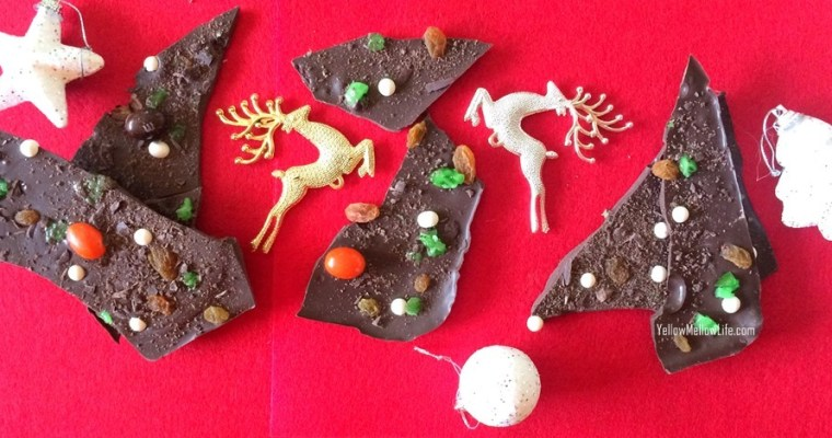 Making Your Own Chocolate Bark Candy and Bringing in Yuletide