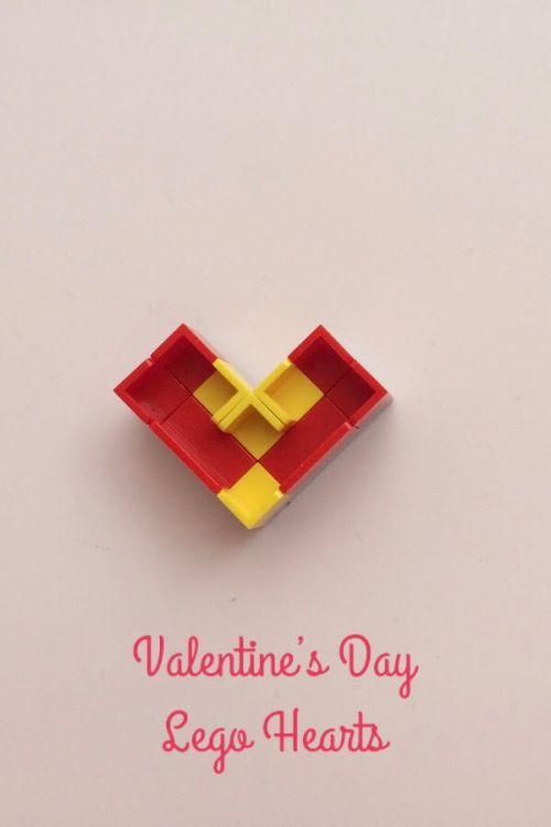 Valentine's Day Lego Hearts