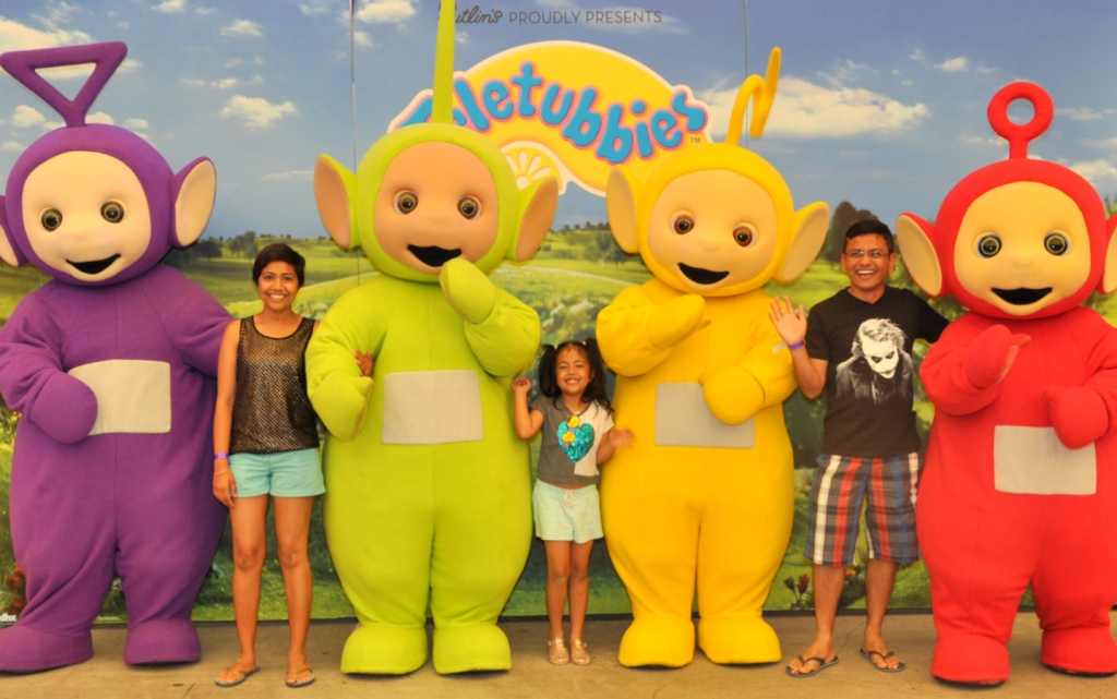 Teletubbies at Butlins UK Holidays for families