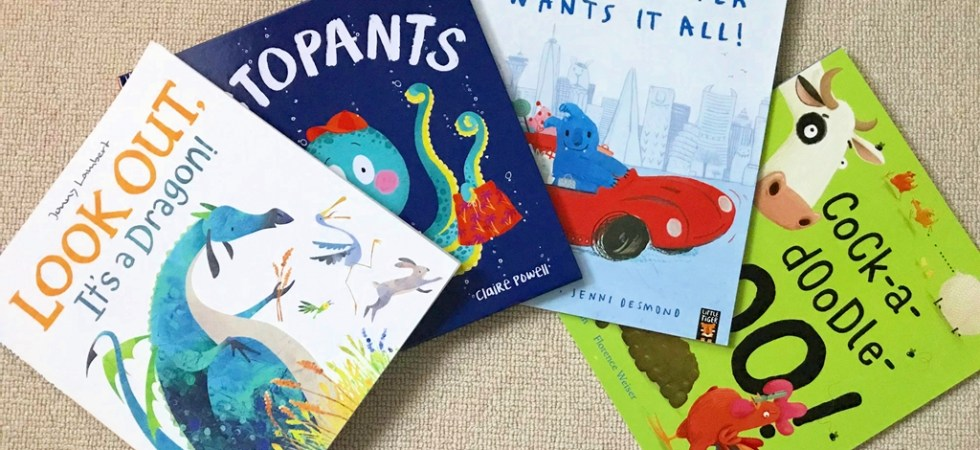 Summer picture books for kids