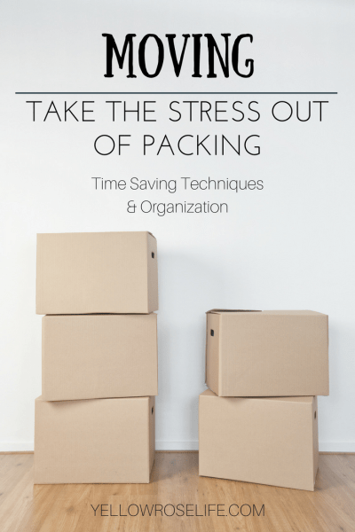 Moving Tips: Take the Stress out of Packing