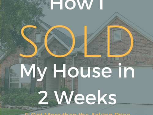 I Sold my House in 2 Weeks, You can too! || Yellow Rose Life ||