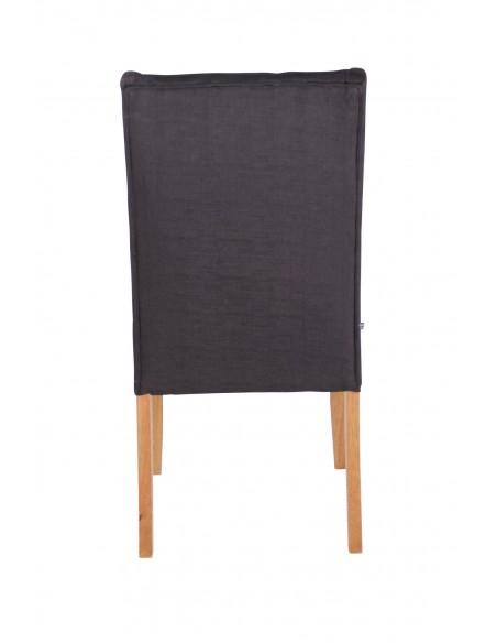 chaise contemporaine emy tissu