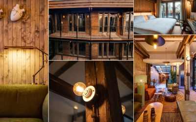 Hotel van de Vijsel en Café Woods