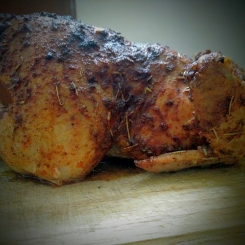 Spicy Whole Chicken Roast