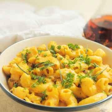 Butternut Pumpkin Mac and Cheese