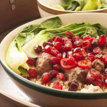 Asian Ginger & Pomegranate Chicken