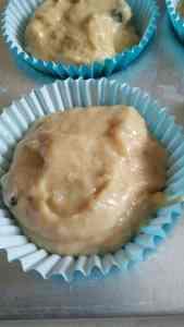 Healthy Banana Raisin Muffins
