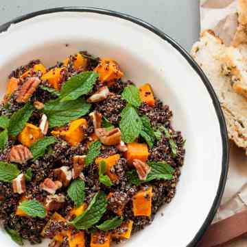 Roast Pumpkin Quinoa Salad