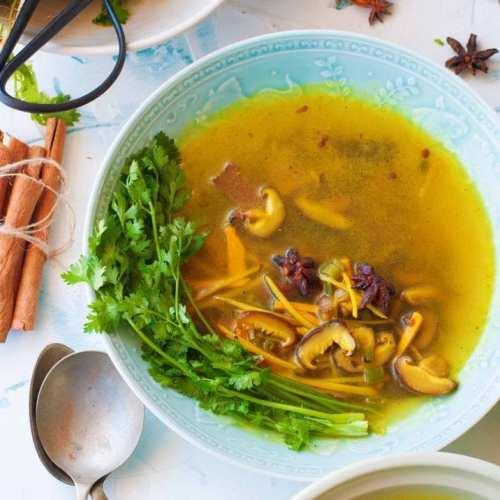 Healing Turmeric Soup