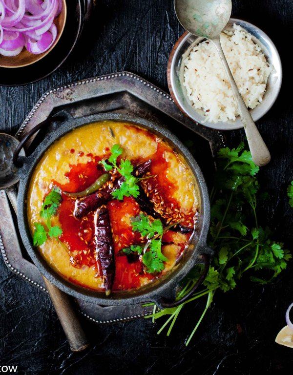 Dhaba Style Dal Tadka | Restaurant Style Yellow Dal