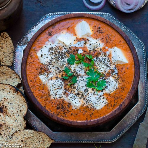 Paneer Butter Masala - Versatile Rich Indian Tomato Gravy with Cottage Cheese