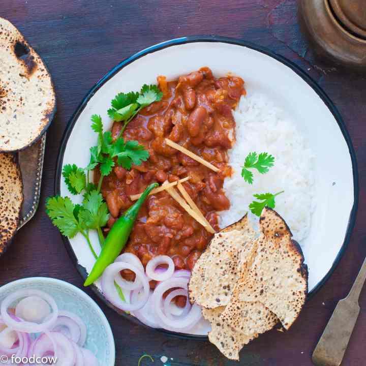 The best Restuarant Style Punjabi Rajma Masala -Easy recipe