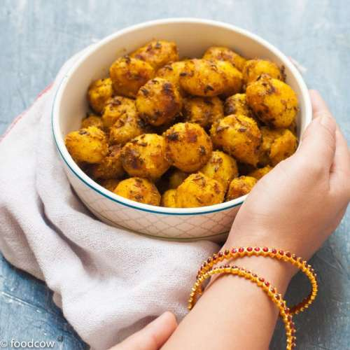 Masala Baby Potato Fry| Simple Indian Recipe