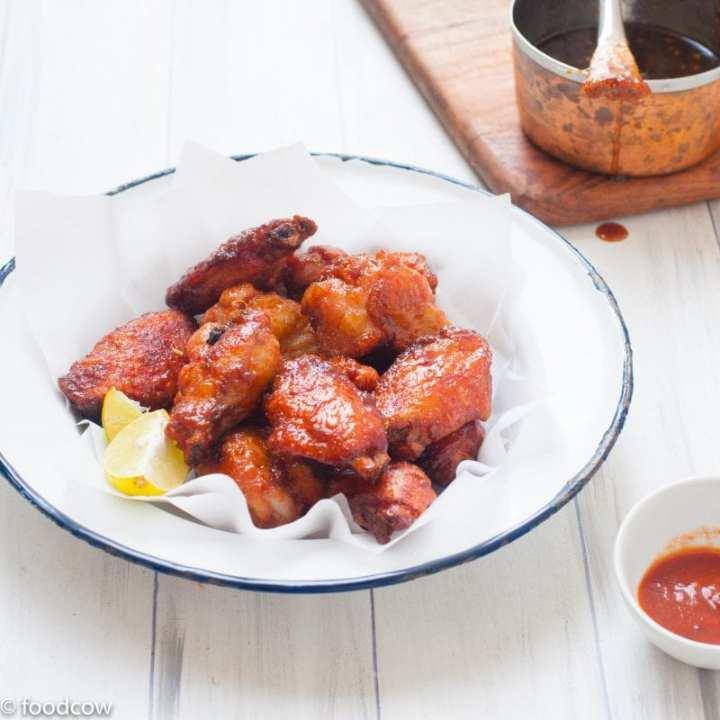 Thai Three Flavoured Sticky Chicken Wings