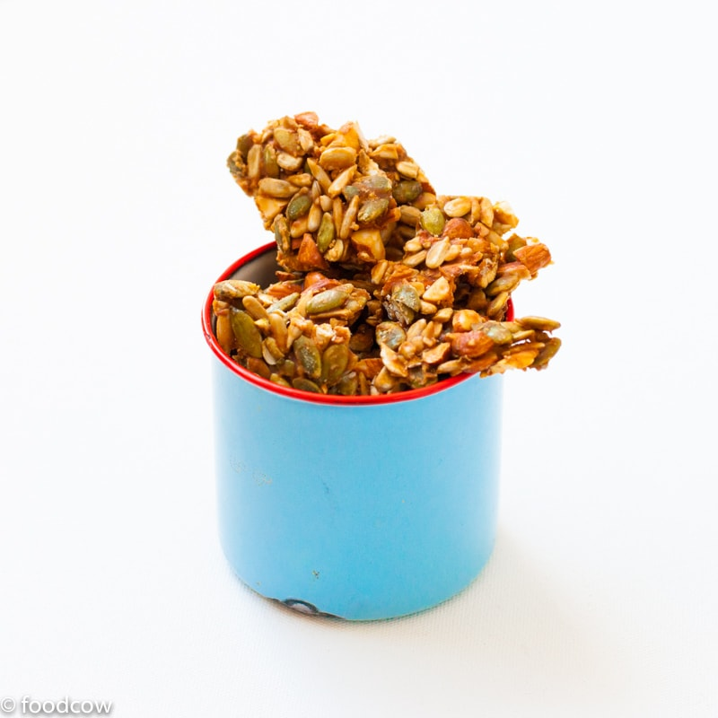 Seeds & Nuts Chikki | Healthier Brittle Recipe