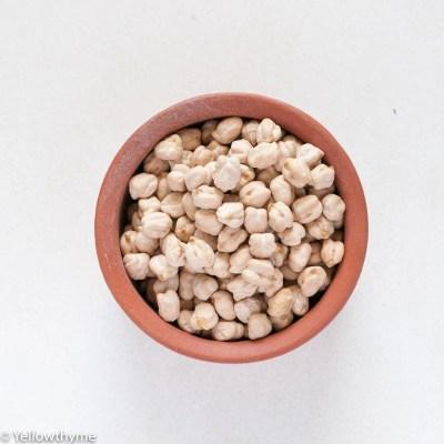 Dried Chickpeas or Garbanzo Beans