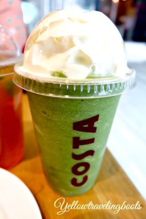 Costa Green Tea