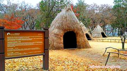 Nami Island_Thatched Structure