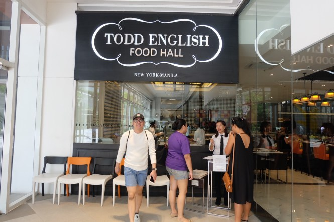 Todd English Food Hall Entrance
